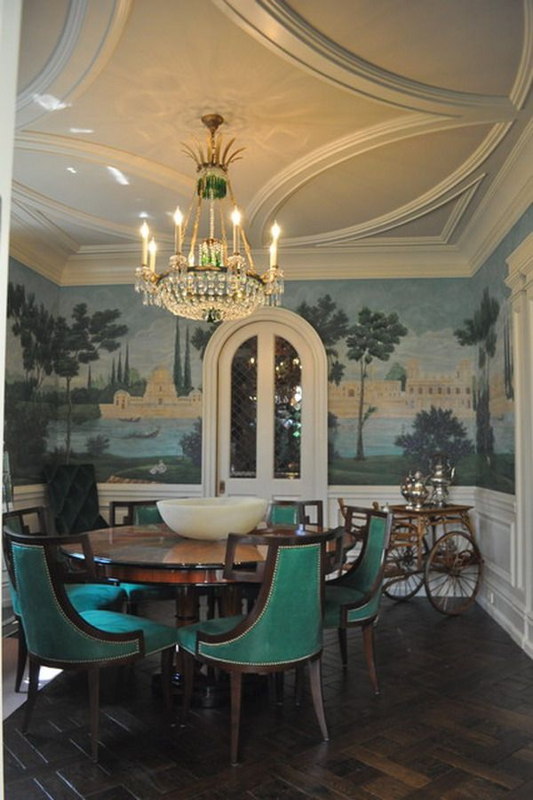 Dining Room Wall Mural Custom Wall Murals Ideas Dining Room Murals Beautiful Dining Rooms Traditional Dining Rooms