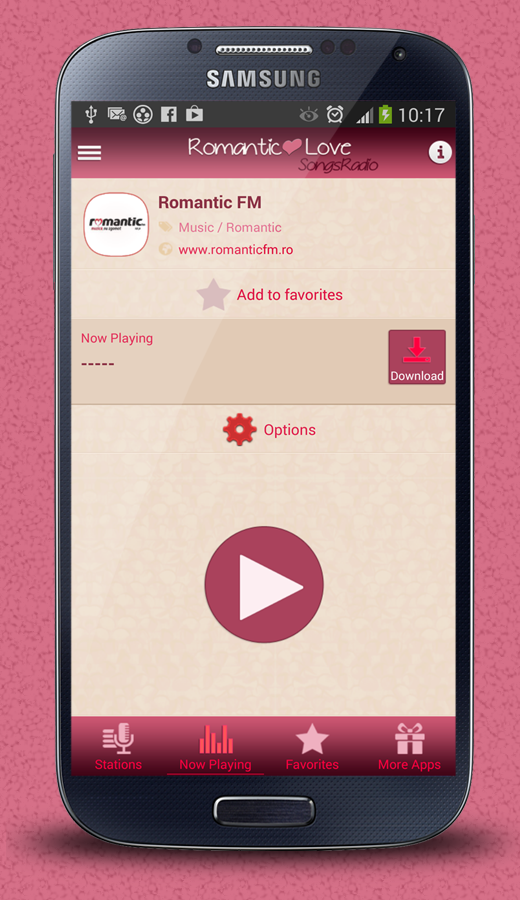 how to play music on radio through android