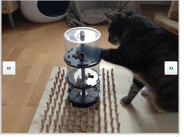 Pin By Verena Fh On For Cat Homemade Cat Toys Cat Puzzle Cat Toys