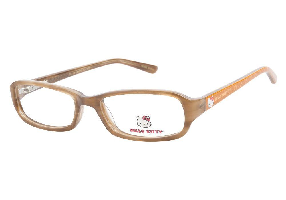 Hello Kitty Glasses   Hello Kitty HK215 2 Honey   Hello Kitty Glasses - ClearlyContacts.ca