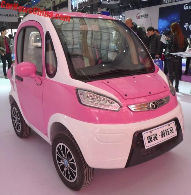 The New Xinyuma Fengguang 2 Door Mini Lsev Is Pretty In Pink Carnewschina Com Pretty In Pink Mini Pink Ladies
