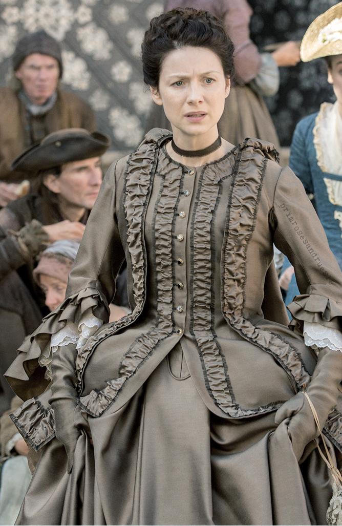 Favorite Period Costume Drama Fashion Moment Outlander Outlander Claire Costume Costume Drama Outlander Claire