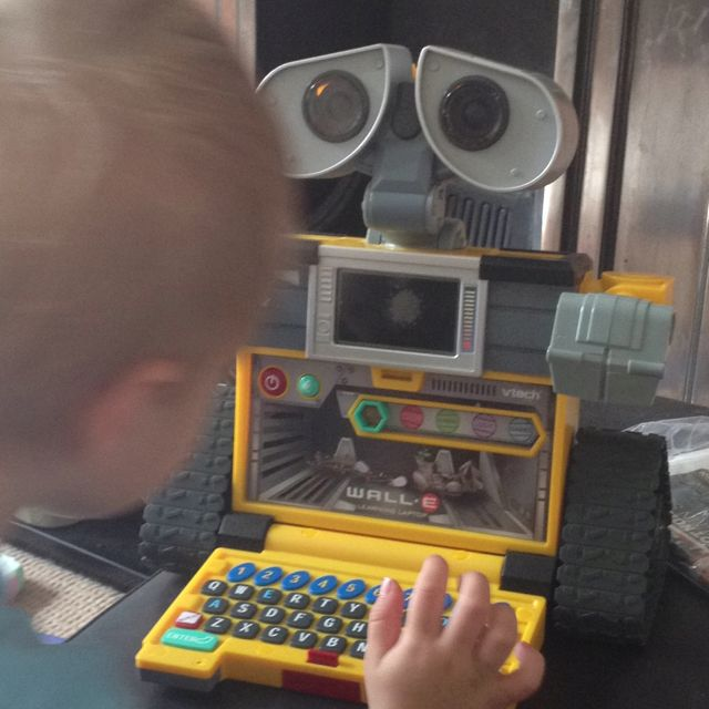 Vtech wall-e learning laptop! Bought this working one from ...