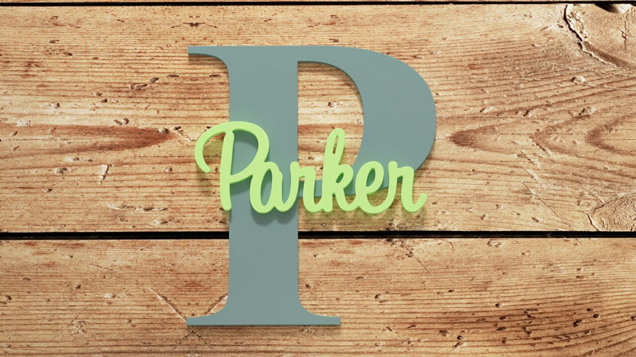 Baby name plaque wooden wall art wall hanging nursery custom made signslarge wood letters wooden letters wall signs by gingerfeast on etsy