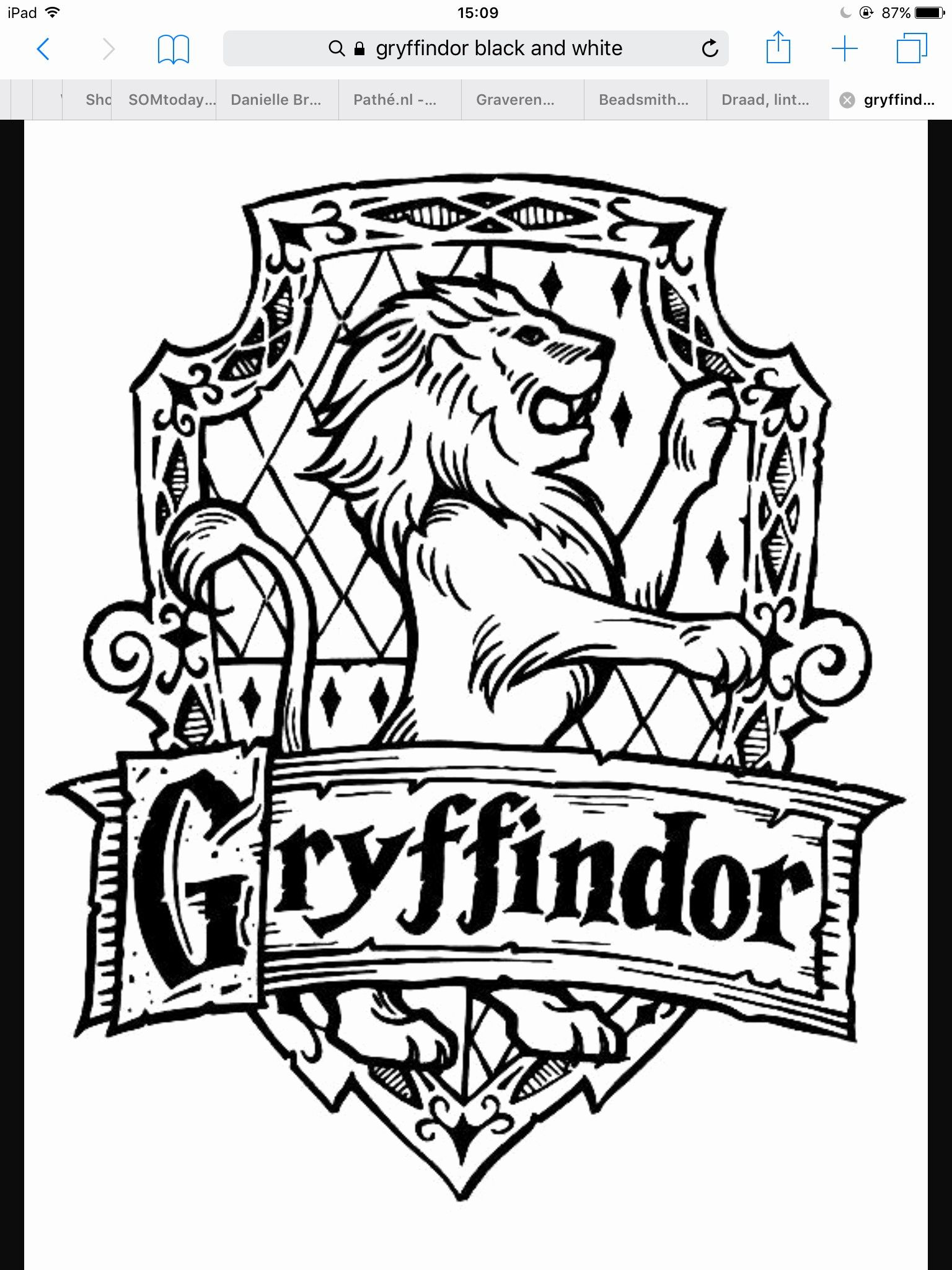 Black and White Kids Coloring Pages Harry Potter in 2020 ...