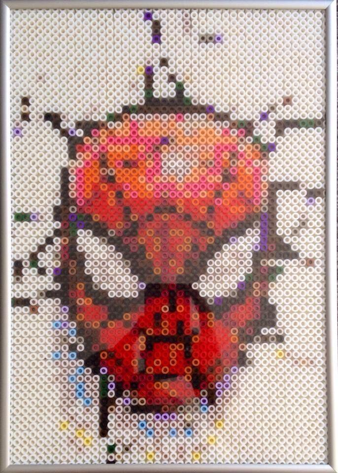 Deadpool Perler Beads By Pomelo Princess More Bugelperlen Hama