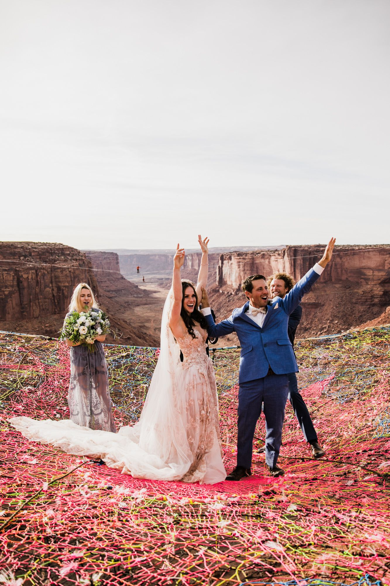 Spacenet Wedding Over A Canyon In Moab With Images Adventure