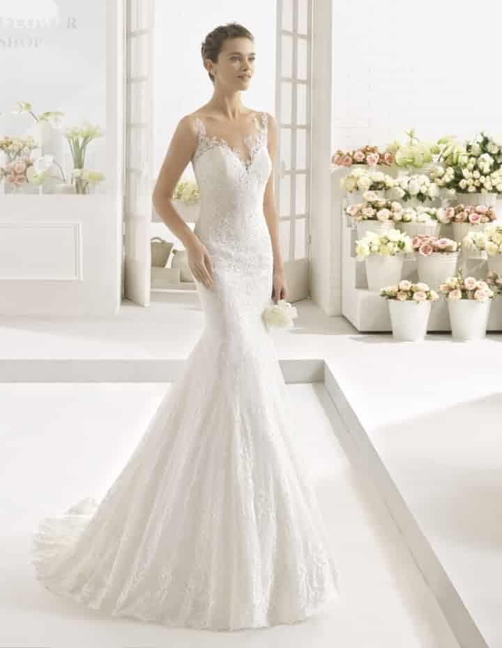 dead08f5be Vestidos de novia corte sirena. Para novias sensuales y femeninas. Luce tu  figura con un vestido corte sirena.