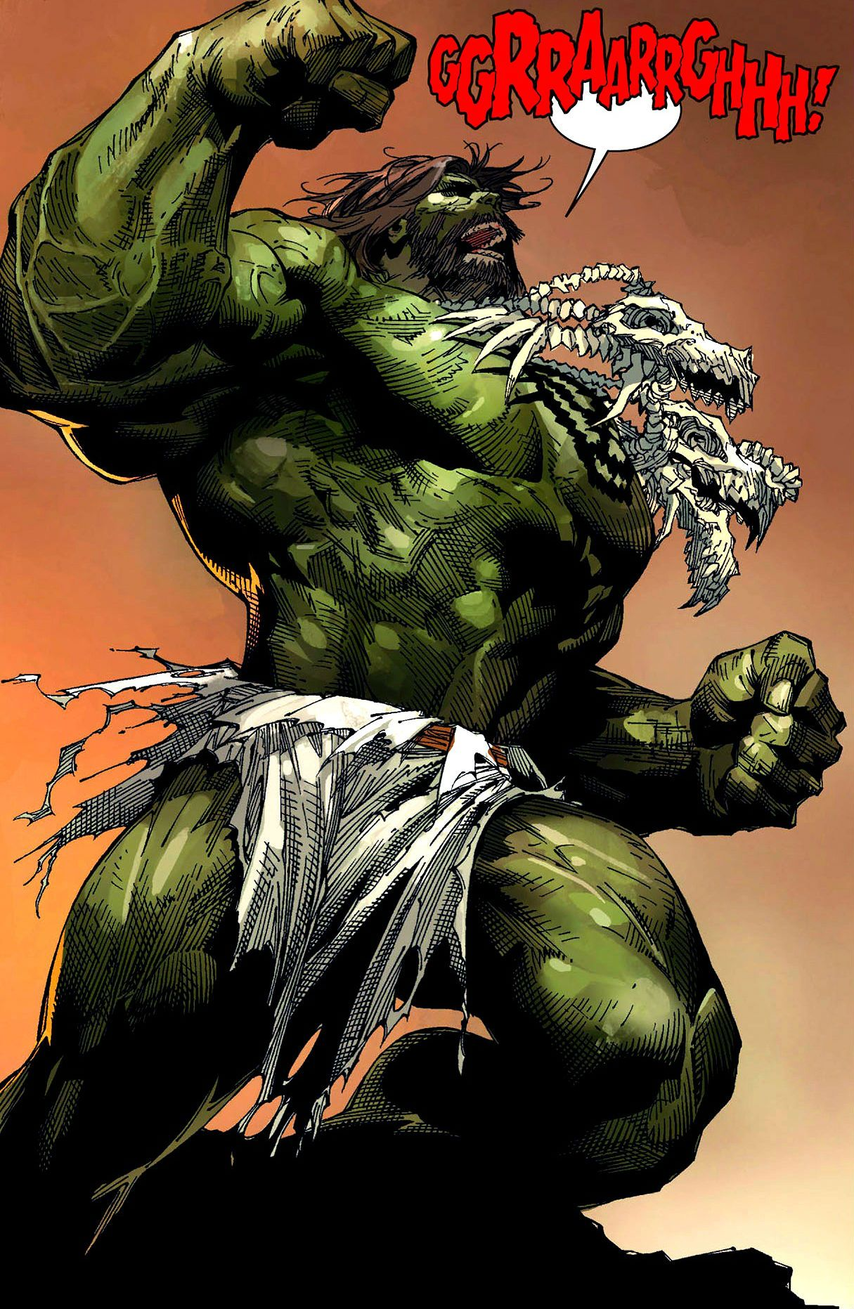 Incredible Hulk by Marc Silvestri | THE HULK ART ...