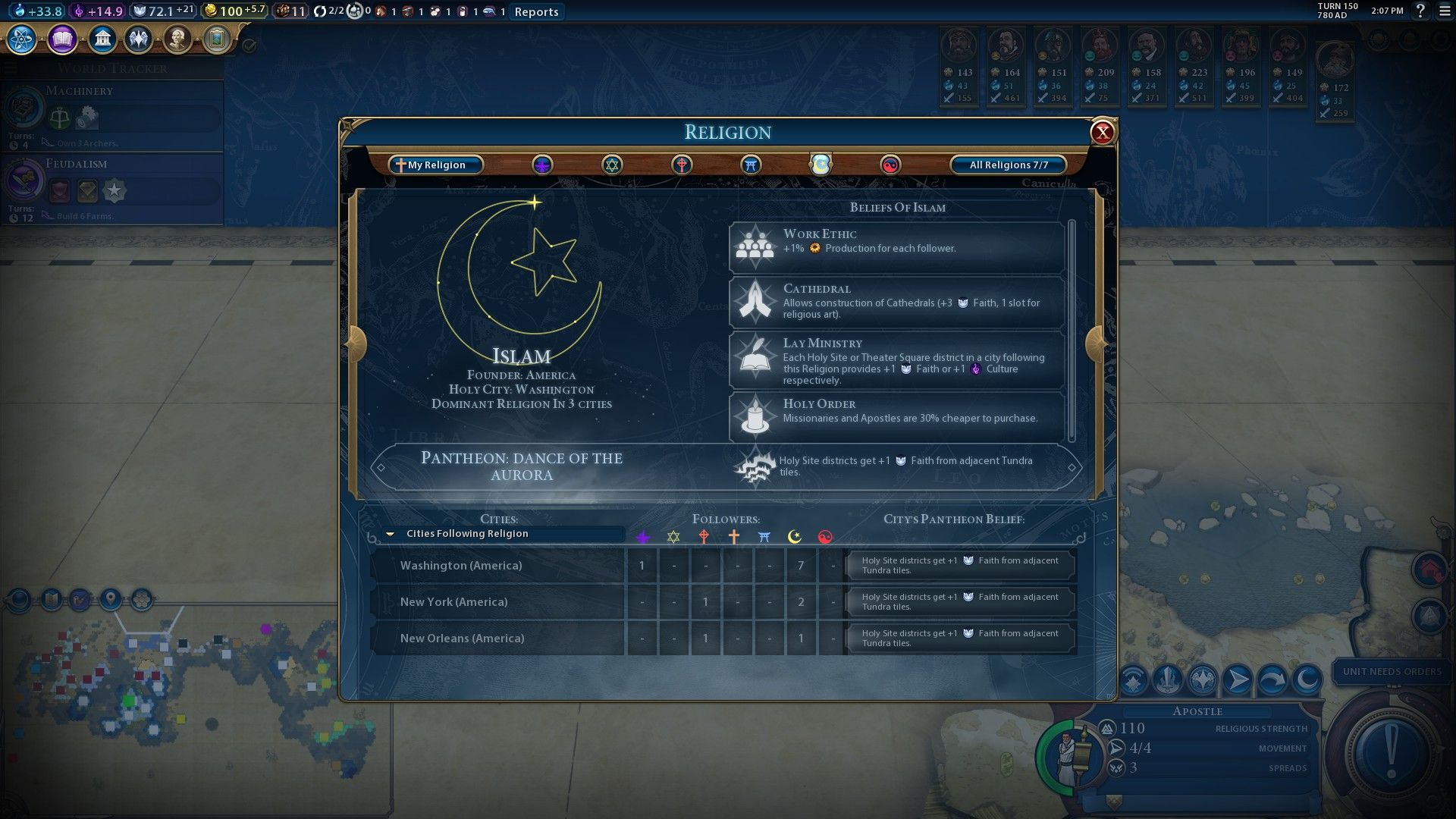 Oh the irony. CivilizationBeyondEarth gaming