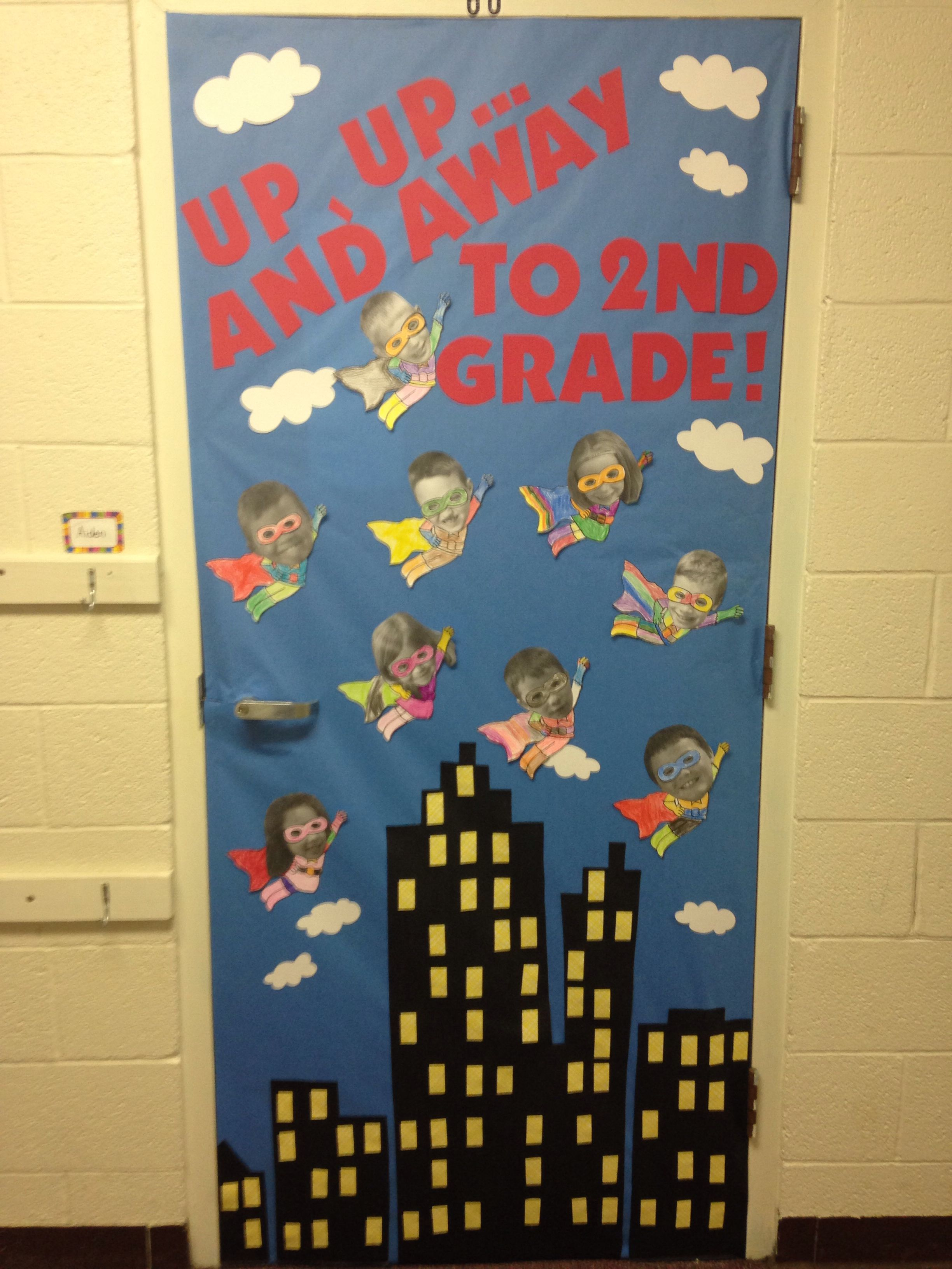 Superhero Door Decor This Would Be Adorable For When The