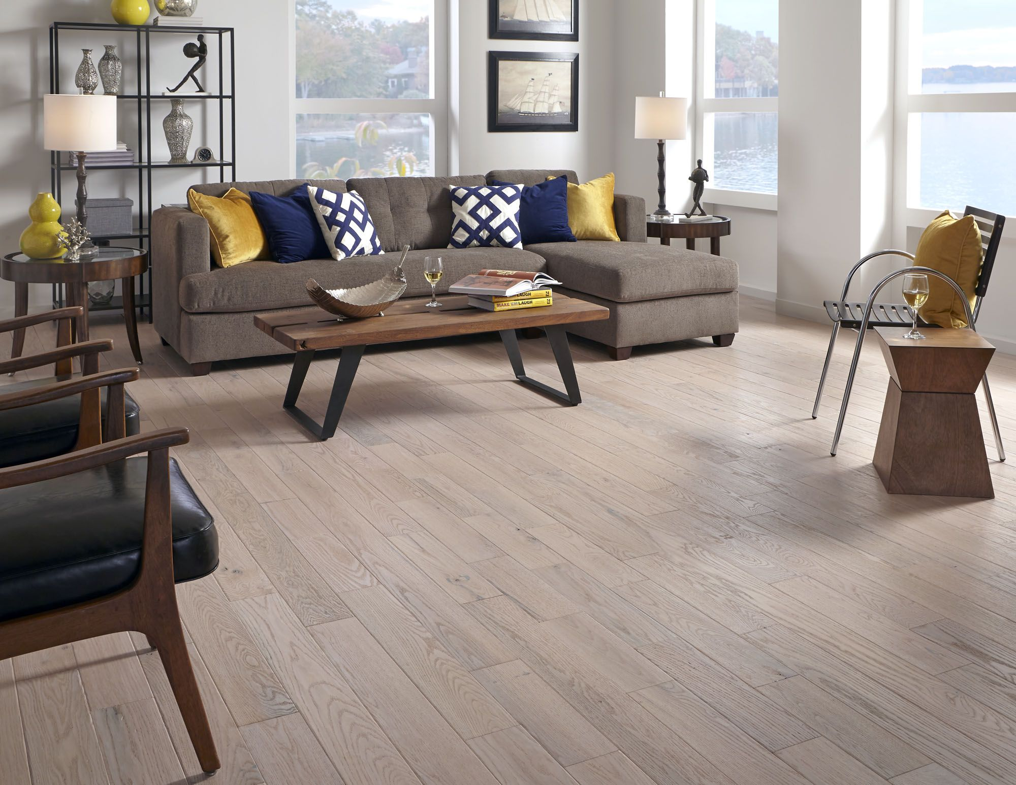 Seabrook Island Oak is refreshing & casual – perfect for those