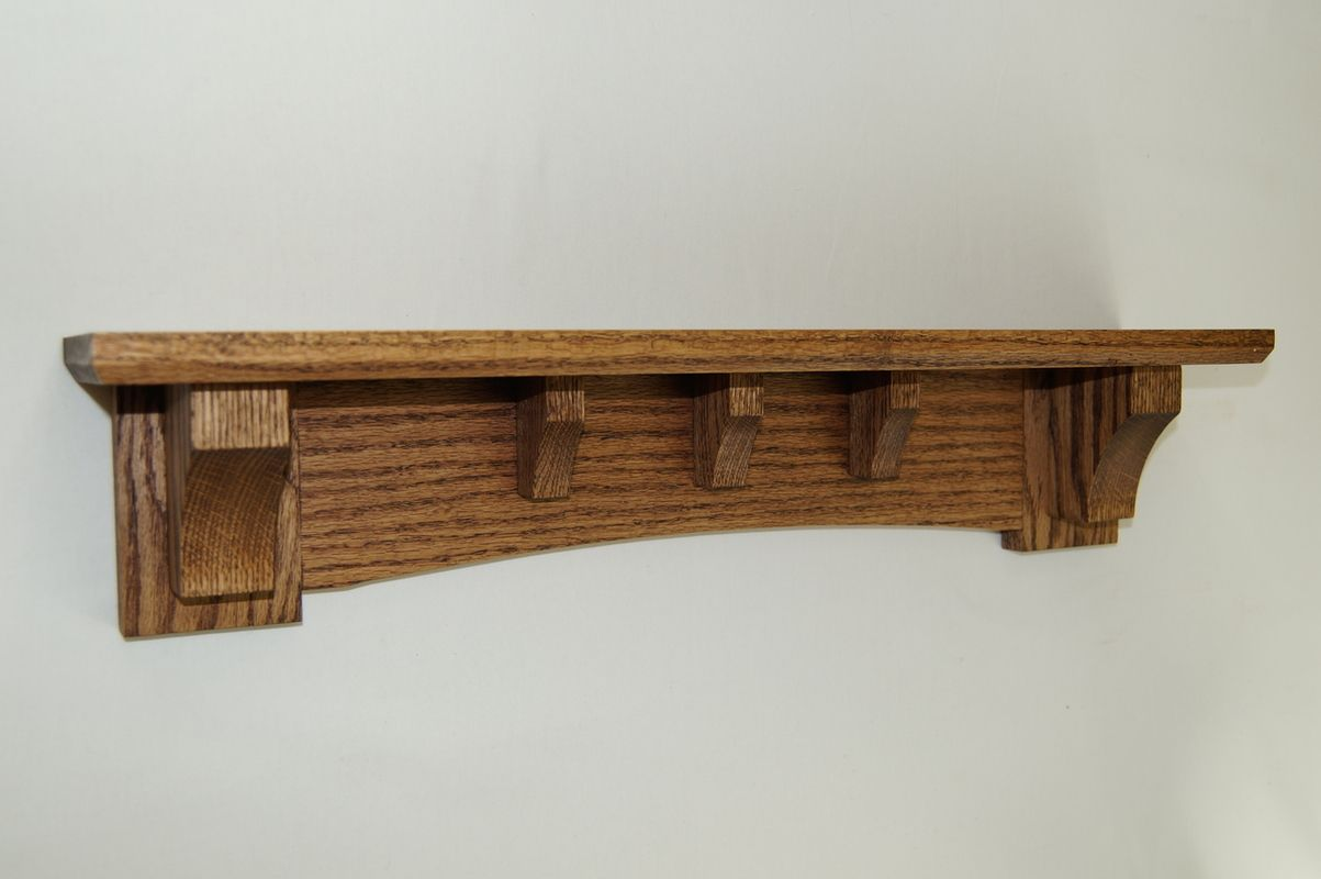 24 48 Short Mission Style Decorative Wall Shelf Wall Shelf Decor Craftsman Style Furniture Wall Shelves
