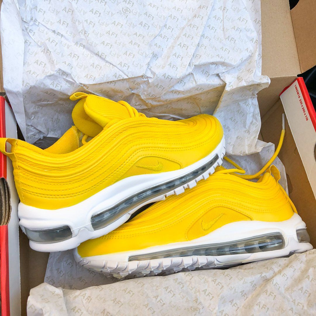 bfe15fbd19db8b badkicksclub — Nike Air Max 97 Sherlina Yellow (Mens)