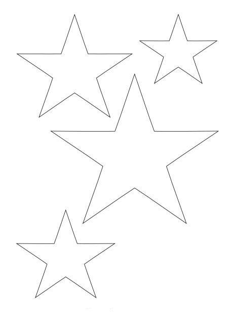 Pin De Yeeyis En Patch Quilt Moldes De Estrellas Planta De Navidad Y Stencil De Estrellas