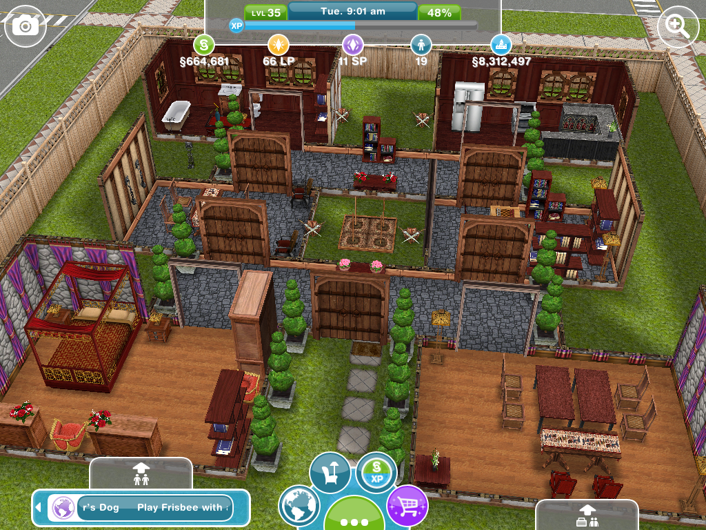 The Sims Freeplay Houses Guide Part One The Girl Who Games
