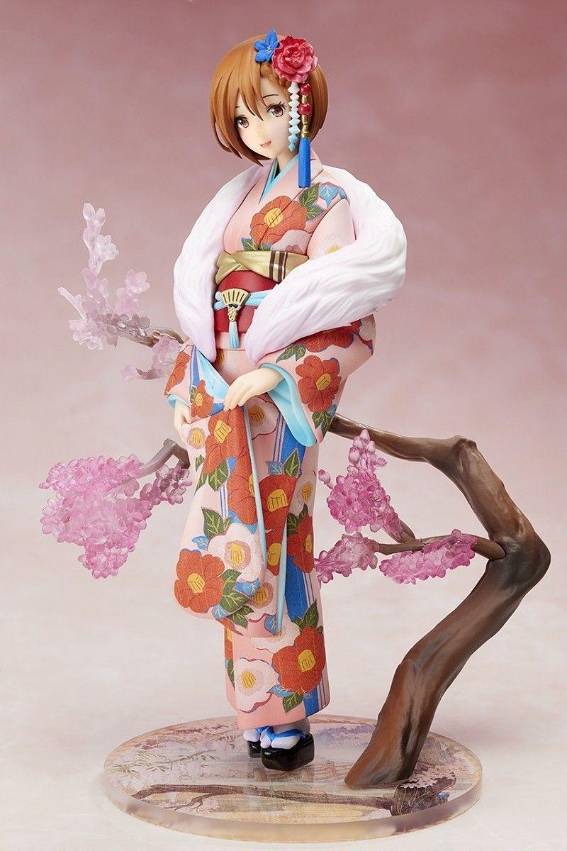 Figure Toy No Box Anime Megurine Luka Hanairogoromo Vocaloid Flowers Kimono Ver