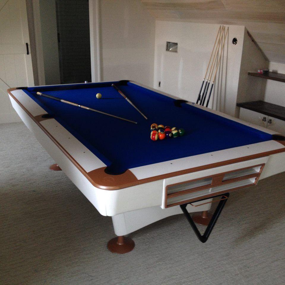 White Gold Crown Restoration By On The Break In Toledo Ohio - Pool table movers toledo ohio