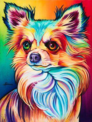 Animals The Artwork of Steven Schuman Картины собак