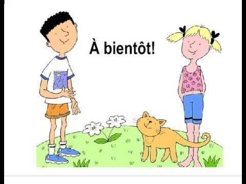 Chanson Bonjour Comment ça Va ça Va Bien à Bientot Teaching French Songs Teaching