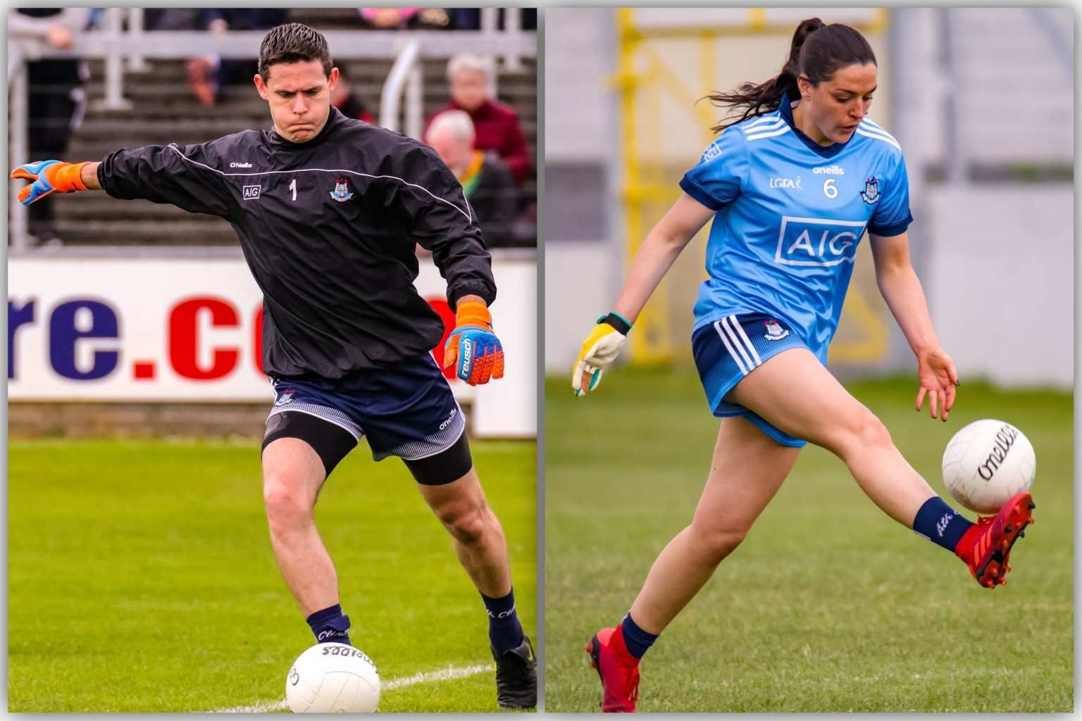 Dublin's Stephen Cluxton And Sinead Goldrick Nominated For