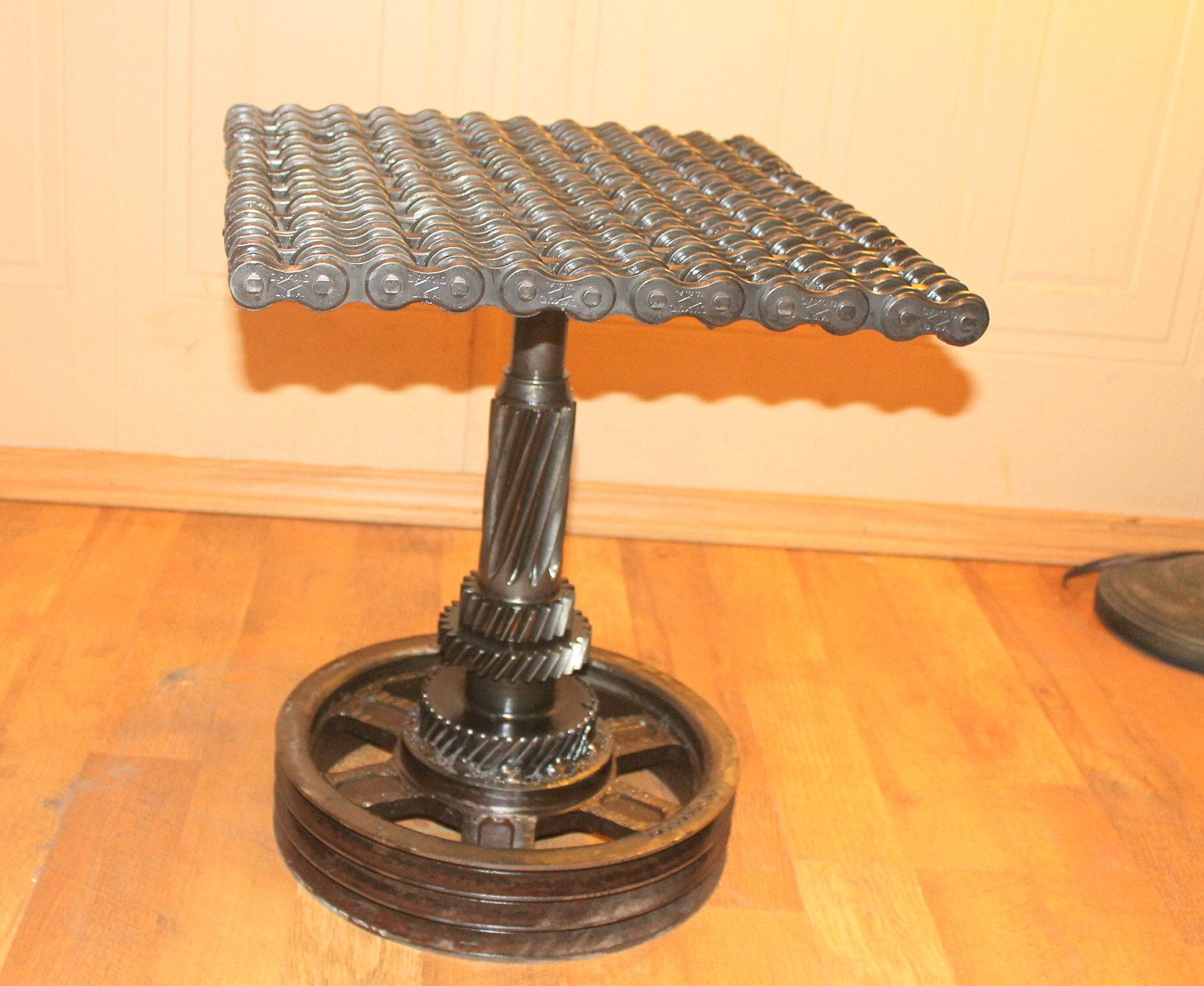 Car part furniture recycled art furniture by for Recycled car parts furniture