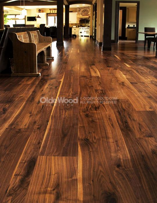Traditionally Milled Wide Plank Flooring Ohio Hardwood Flooring Walnut Hardwood Flooring Flooring Wood Floors Wide Plank