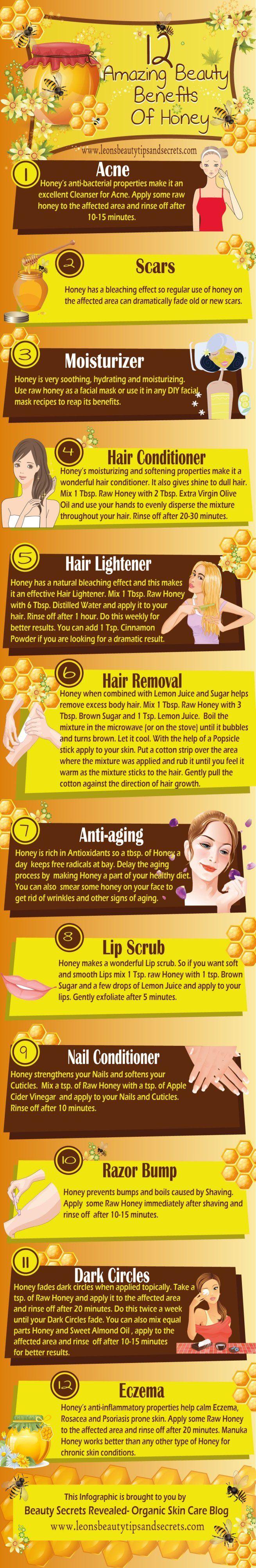 Honig als Kosmetik
