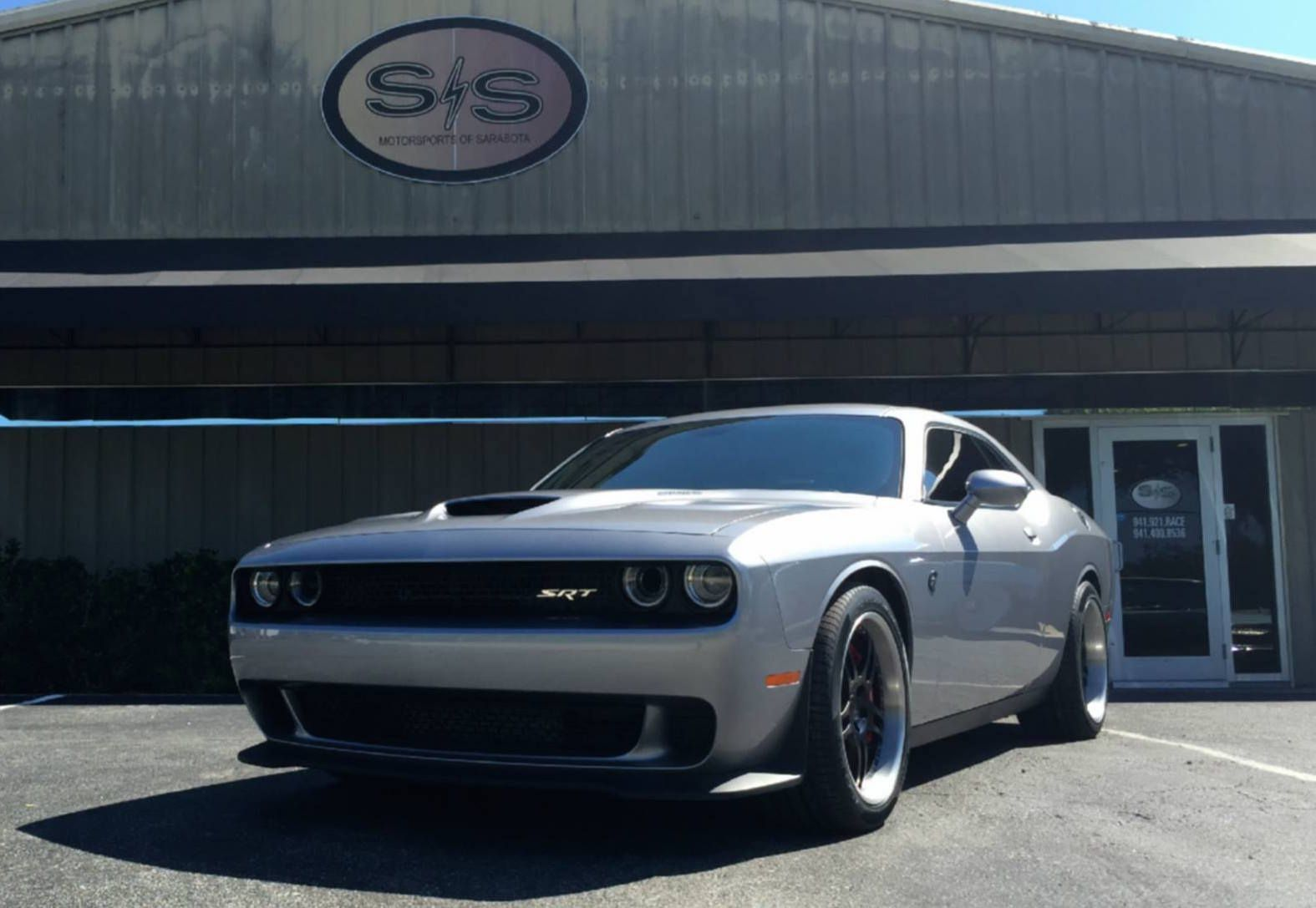 The team at s s motorsports equipped john s 2015 dodge challenger srt hellcat with pirelli p zero
