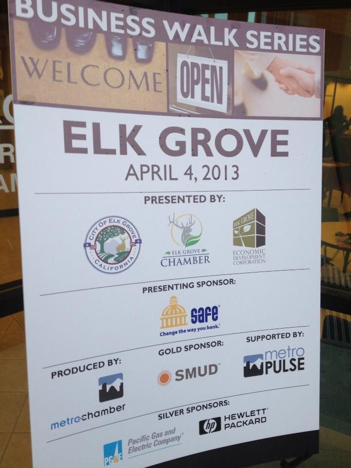 City Of Elk Grove And Elk Grove Chamber Of Commerce Sponsored A Business Walk Series Teams Of 3 4 Volunteers When To All The B Chamber Of Commerce Elk Grove Business