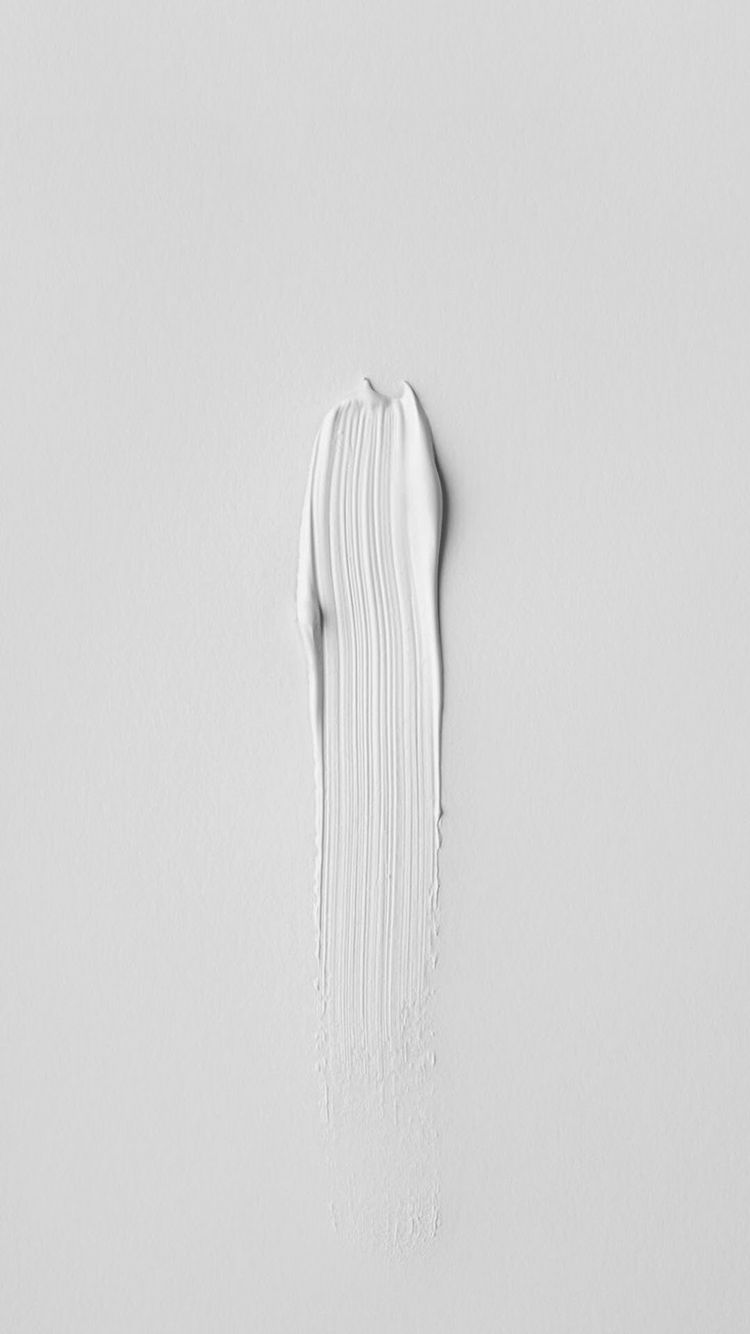 IPhone Art Paint Minimalistic White