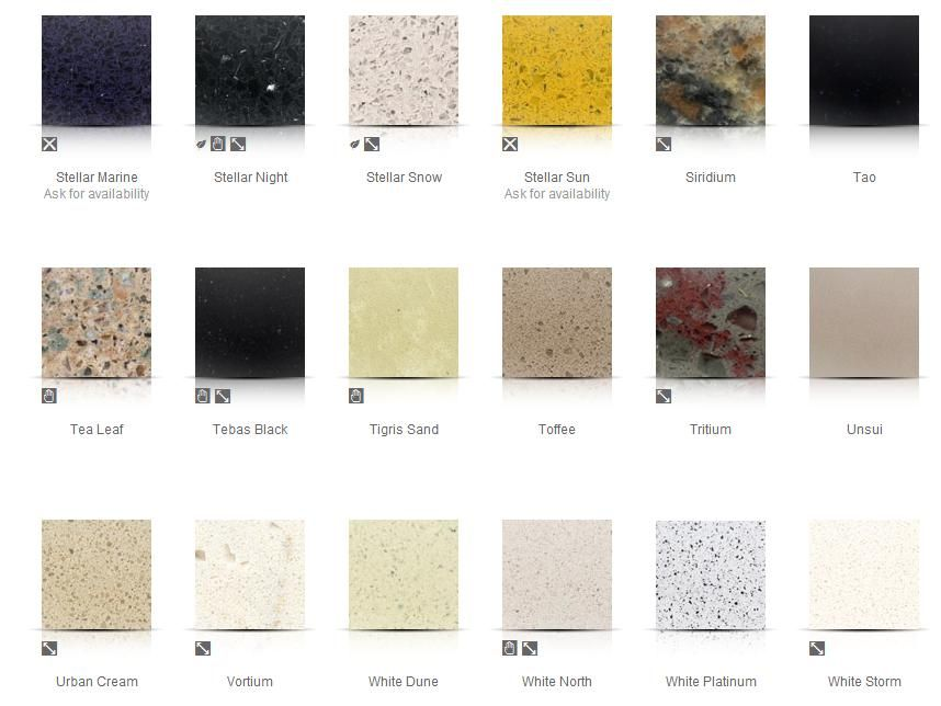 Sile Stone Colors