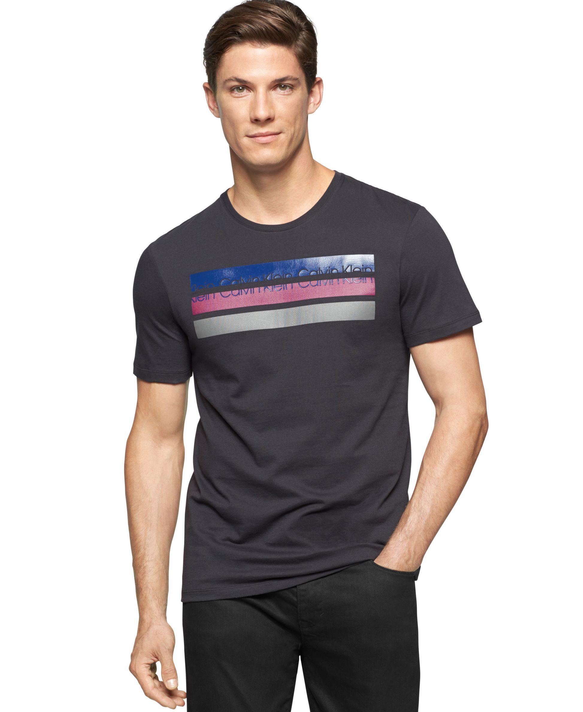 750bcdf196 Calvin Klein Tri-Bar T-Shirt