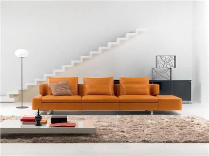 natuzzi sofas opus i want an orange sofa natuzzi italia pinterest orange sofa italian. Black Bedroom Furniture Sets. Home Design Ideas