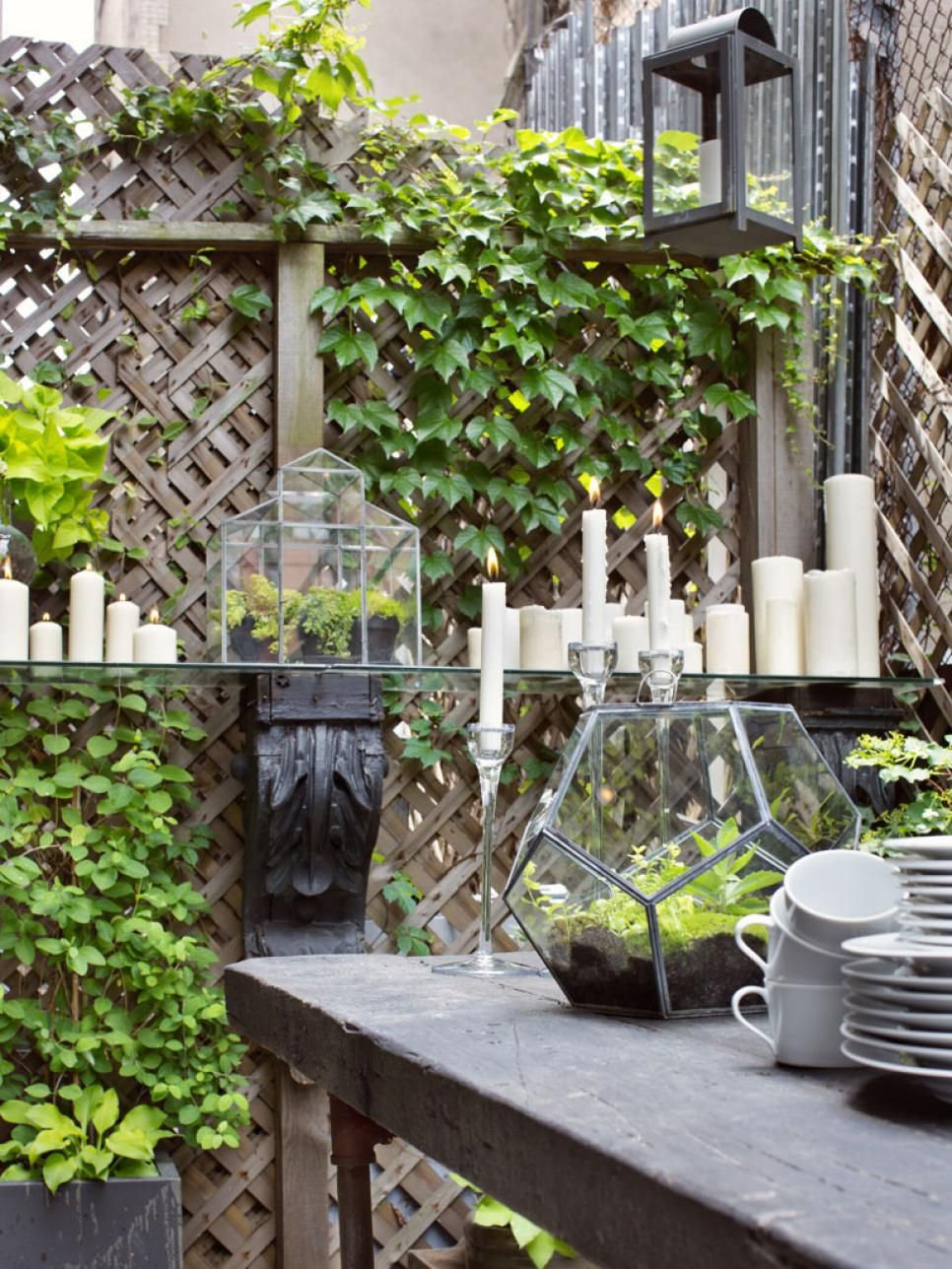 18 Small Yards, Balconies and Rooftop Patios | Interior Design Styles and Color Schemes for Home Decorating | HGTV