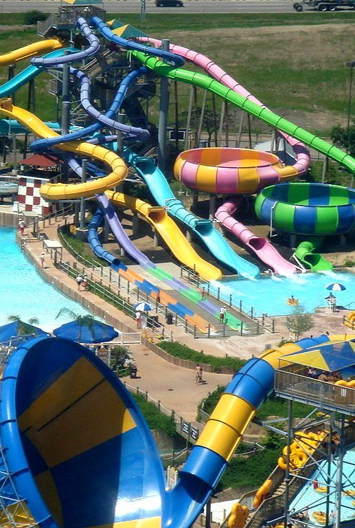 12 Cool Water Parks In Los Angeles | Amusement parks in ...