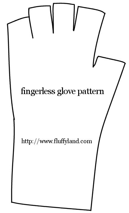 Gloves Sewing Pattern : gloves, sewing, pattern, Chilly, Typing, Gloves, Sewing, Techniques,, Pattern