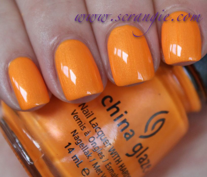 Scrangie: China Glaze Summer Neons Collection for Summer 2012 ...