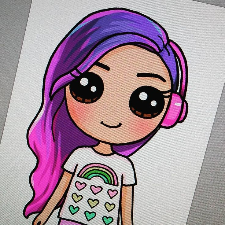 Draw So Cute Drawsocutebywennie Cute Drawings Kawaii Girl
