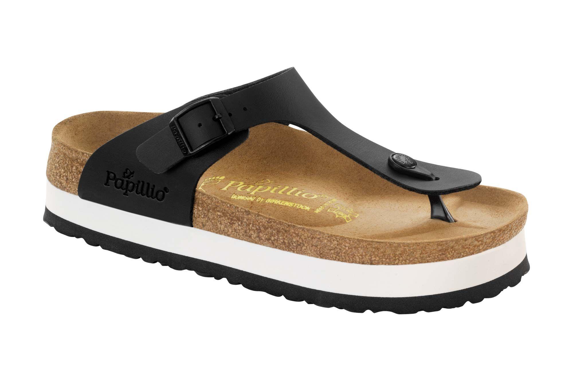 3ea294b9cf94 Gizeh Platform Black Birko-flor Black Sandals