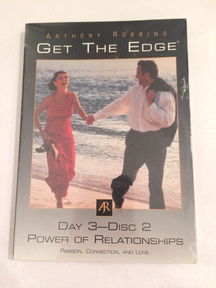 Anthony Robbins Get the Edge Day 3 disc 2 power of relationships - tony robbins disc