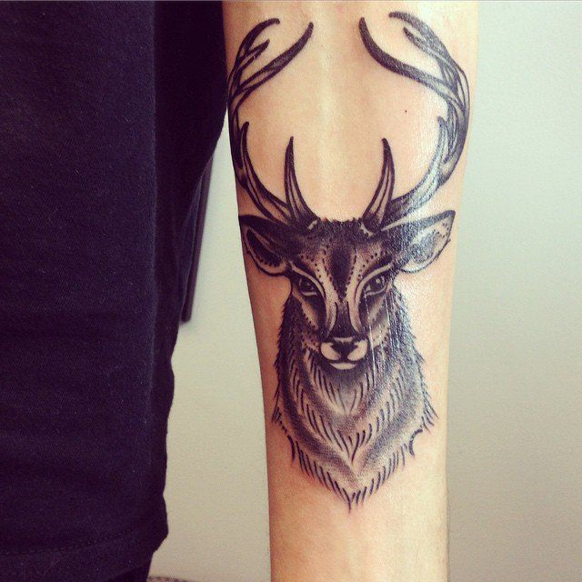 pinodd stuff on tattoos | pinterest | stag tattoo, tattoos and