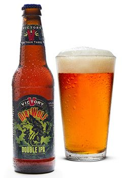 Victory DirtWolf Double IPA, one of GAYOT's Top 10 IPAs
