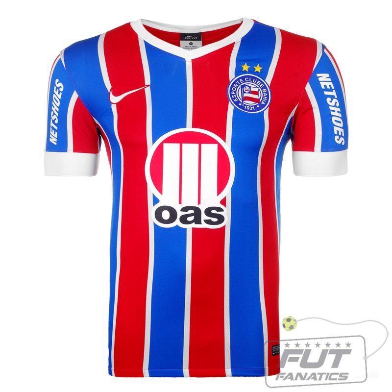 0ba18f847 Camisa Nike Bahia II 2014 - Fut Fanatics - Compre Camisas de Futebol  Originais Dos Melhores Times do Brasil e Europa - Futfanatics