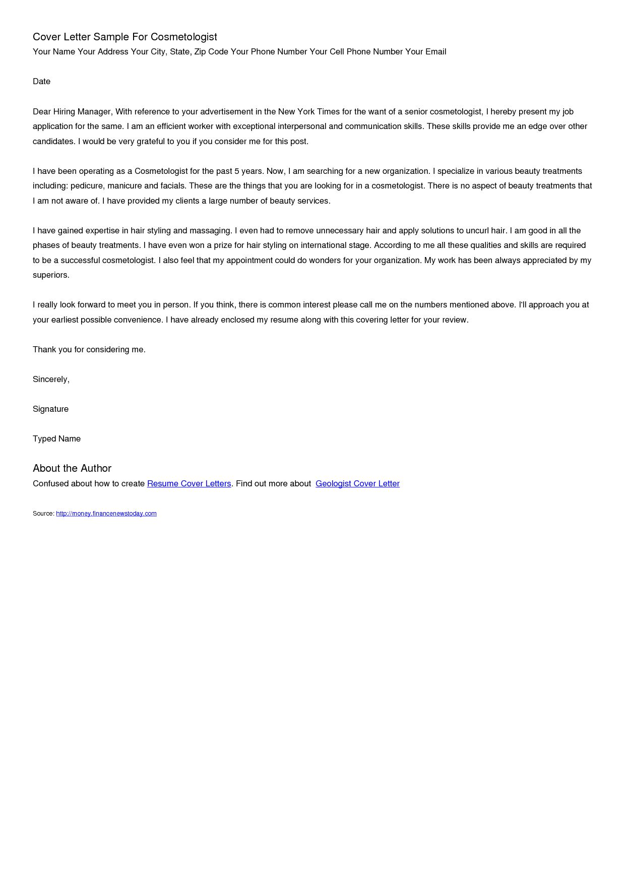 27 Cover Letter And Resume Cover Letter For Resume