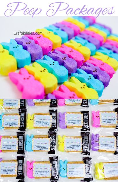 For my peeps easterspring class treat teacher gift fun for easterspring class treat teacher gift fun for the kids negle Choice Image