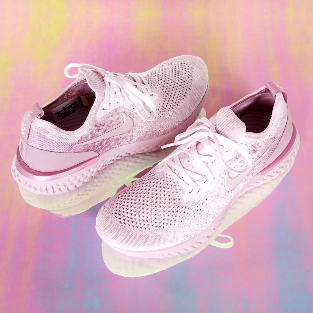 96439b09ab3 The Nike Epic React Flyknit Women s Running Shoe. Cool colours and excellent  running sneakers.