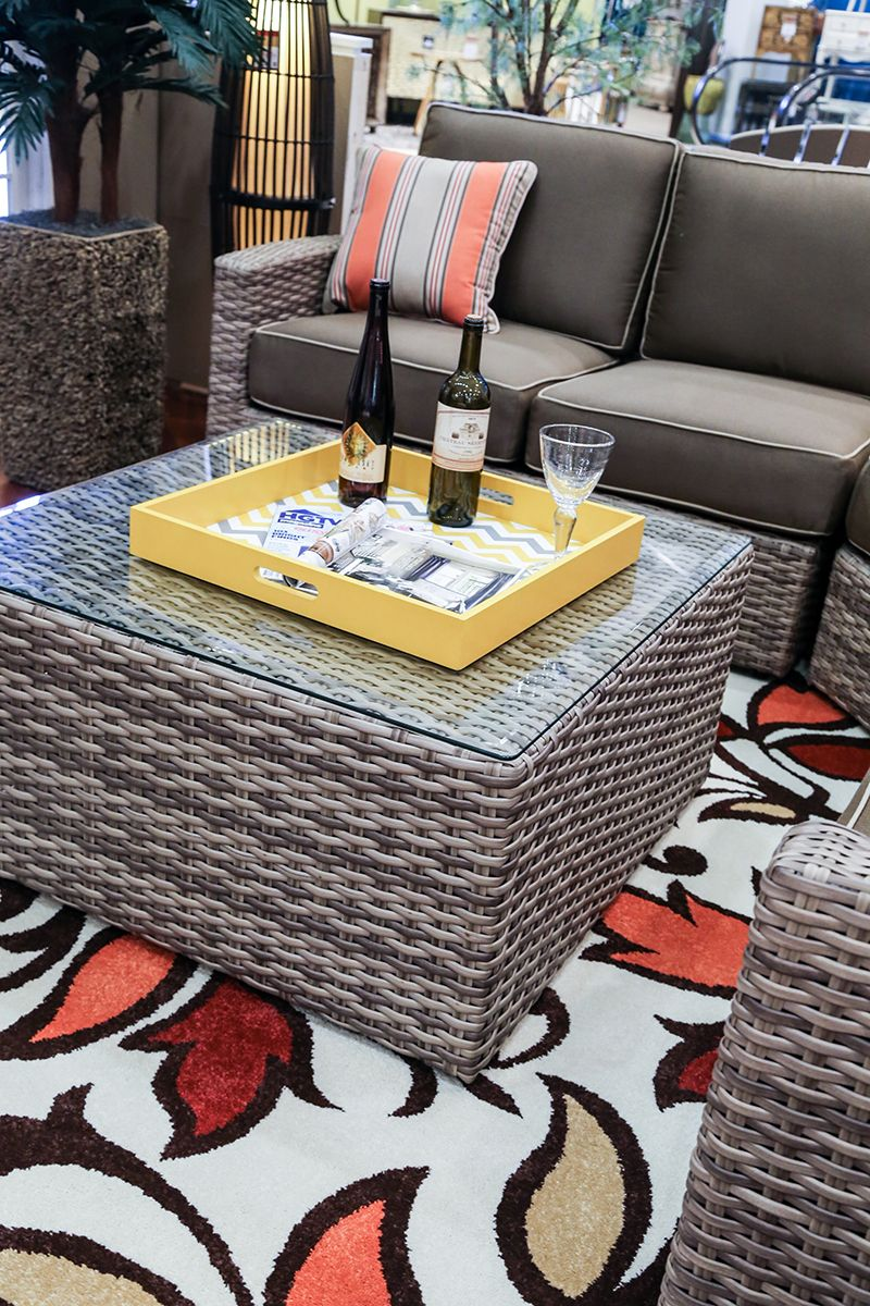 Homemakers Patio Style Circle Wicker Wickerfurniture Outdoorliving Wine Patio Agio Patio Furniture Furniture Outdoor Patio Furniture