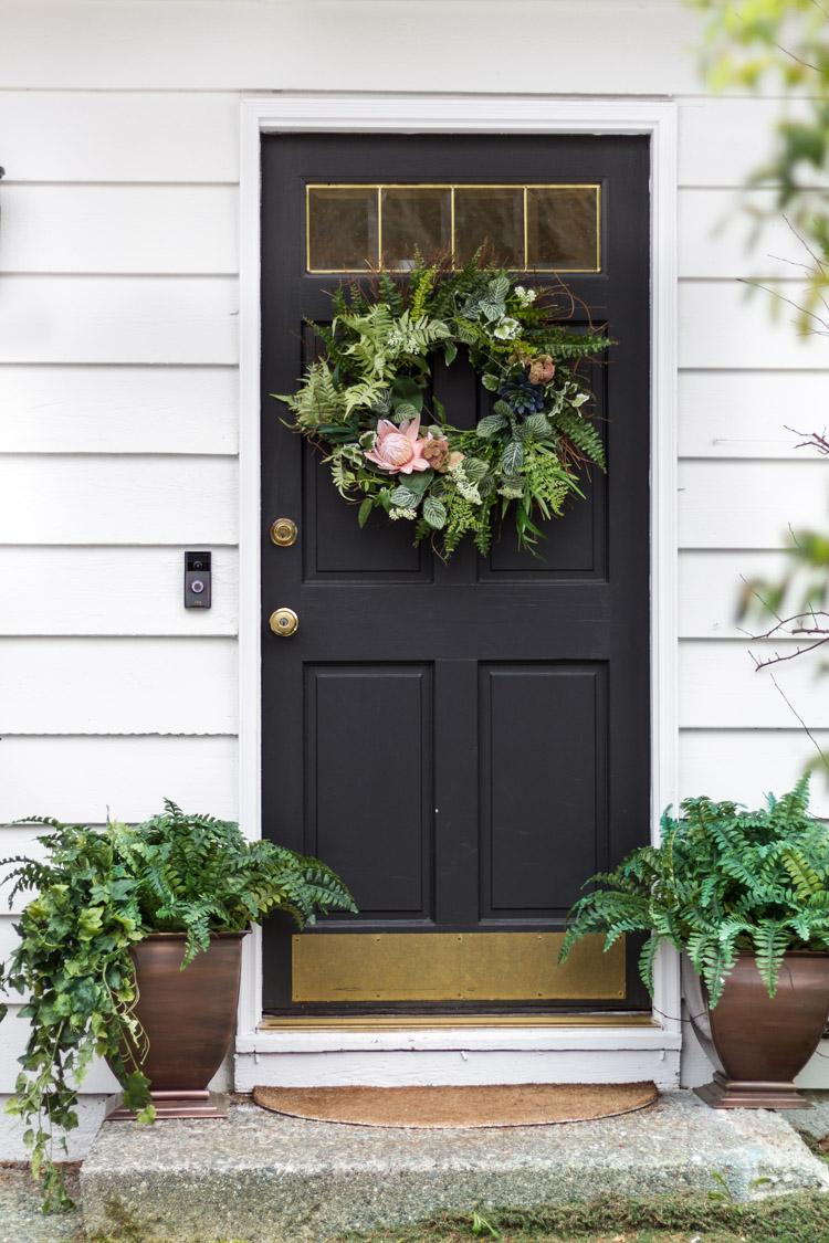 DIY Whimsical Spring Wreath