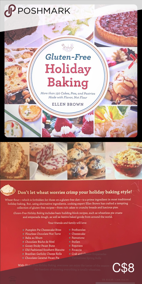 Holiday Cookbook Very Colourful Gluten Free Holiday Baking Guide